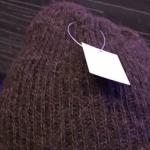 アンゴラの帽子