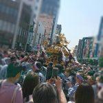 浅草でえっさ、えっさ 三社祭り