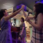歌と踊りで楽しかったね♩