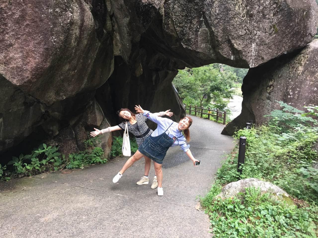 富士山に次いで第2位、昇仙峡(しょうせんきょう)