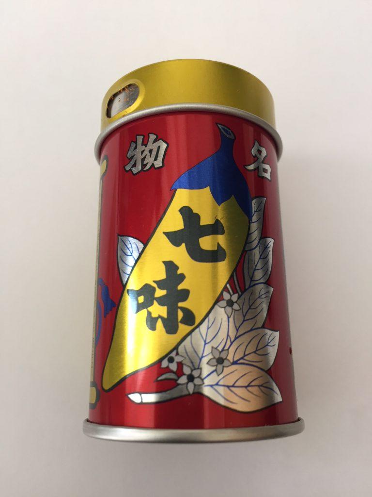 八幡屋磯五郎(やわたやいそごろう)の七味唐辛子